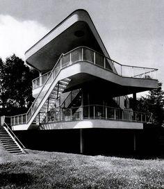 Hans Scharoun > Villa Schminke > Lobou, Saxony, Germany > 1933