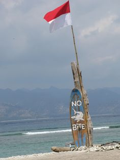 La plage , surf , Gili Trawangan, Bali #bali #trawangan #surf