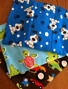 Baby boy burp cloth/rag...AKA...Burpie by AllSylviasCreations, $6.00