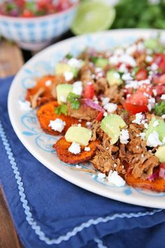 Sweet Potato Nachos from Our Best Bites