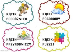 Kąciki tematyczne – mały rozmiar 1 Logo, Education, Comics, Teaching, Comic Book, Onderwijs, Comic, Comic Books, Graphic Novels