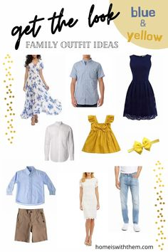 Beautiful Blue and Yellow Family Photos – Home Is With Them Large Family Photos, Photo Blue, New Mums, Summer Feeling, Family Outfits, Photography Editing, Wardrobe Ideas, Photo Shoots, What To Wear