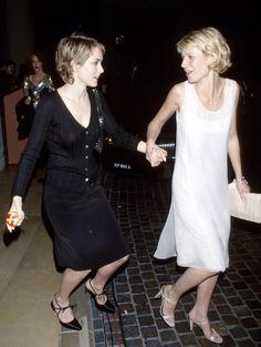 1998 Golden Globes with Gwyneth