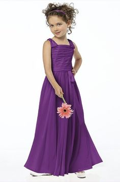 Dessy Fl4033 Flower Girl Dress | Weddington Way