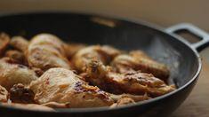 Veselé Borůvky: Kuře s hořčicí a estragonem Shrimp, Meat, Chicken, Food, Essen, Meals, Yemek, Eten, Cubs