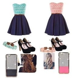 """""""Pink or blue"""" by demi9639 ❤ liked on Polyvore"""