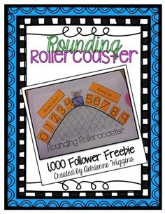 FREE- Rounding Rollercoaster Freebie! Math, Numbers, Other (Math) 1st, 2nd, 3rd   Activities, Handouts, Printables...This document is intended for use in an interactive notebook, but can certainly be used separately. This document focuses on teaching students when to round a number down and when to round up.