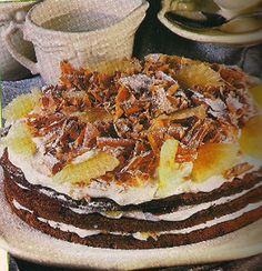 Receita de Delícia de chocolate e ananás - Receitas Já, rapidas, faceis e simples Culinária para todos!!!