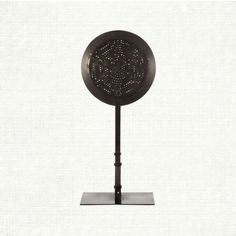 Arhaus.Made to resemble an old-fashioned radio speaker, the Mason lamp contains that perfect balance of evocative history and modern simplicity. The light f