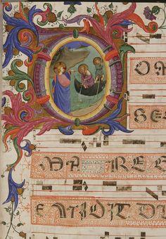 Vocazione di Pietro e Andrea autore: Beato Angelico  tecnica: tempera e pennello