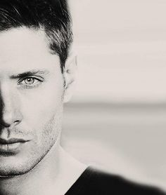 Jensen Ackles - Don't give me that look unless you're going to do something about what it does to me later... in the bedroom....or living room...ANY room. Jeez!!
