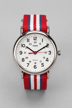 Timex Striped Band Weekender T2N746