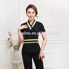 Source Beauty salon spa uniform new style female spa uniform on m.alibaba.com