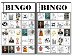 Conference Bingo #3 - More Bingo Cards for General Conference.