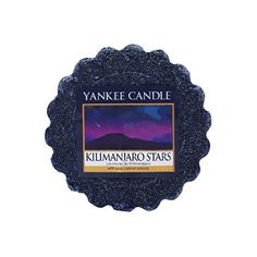 Yankee Candle Kilimanjaro Stars Wax Tart Melt, Plastic, Purple ($2.41) ❤ liked on Polyvore featuring home, home decor, home fragrance, scented wax warmer, yankee candle tart burner, yankee candle wax warmer, yankee candle oil warmer and yankee candle wax burner
