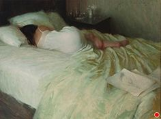Interlude by Jeremy Lipking Oil ~ 30 x 22