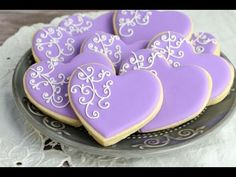 I made pretty Filigree Cookies. I love to bake, decorate cookies, cakes, cupcakes. Have a suggestion for a video, leave me a note below or email at hanielas@...