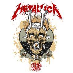 Risultati immagini per pushead art metallica Music Artwork, Metal Artwork, Art Music, Metallica Cover, Metallica Art, Musik Illustration, Rock Band Posters, Heavy Metal Rock, Extreme Metal