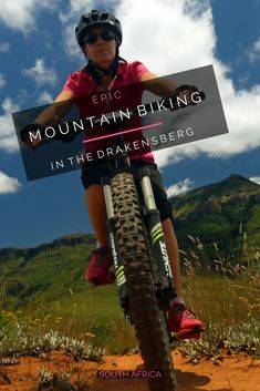 The Drakensberg is an unknown paradise for mountain bikers. Save this pin to explore the best tracks to venture out in this wonderful scenery on the best single tracks the country has to offer!