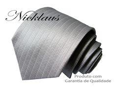 Gravata Prata Trabalhada N94ac