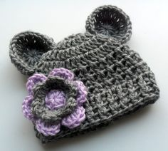 Toddler Crochet Hat  Crochet Beanie Hat with Ears by Karenisa, $20.00  OMG @Amanda Snelson Snelson Ray!!!