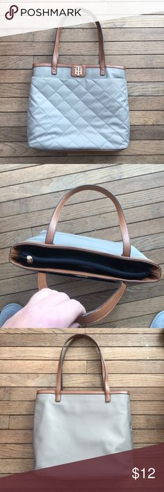 Tommy Hilfiger Tote Good Condition, only used for a handful of times. Great bag for work or school. Very stylish. Tommy Hilfiger Bags Totes