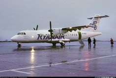 One of three ATRs leased by Ryanair Routing was Kerry - Cork - Luton. - Photo taken at Cork (ORK / EICK) in Ireland on February Atr 42, Cargo Airlines, Aircraft Pictures, Airplanes, Gabriel, Cork, Ireland, Aviation, Commercial