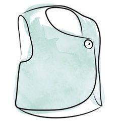 Cross my Heart Vest – sewing pattern by Evie & Essie