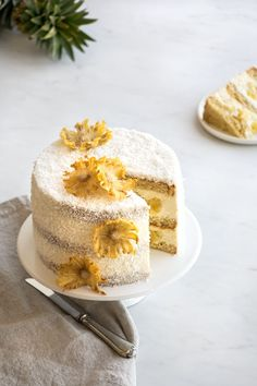 Discover our quick and easy recipe from Cupcake to Cook Expert on Current Cooking! Chiffon Cake, Cake Coco, Pasta Cake, French Cake, Number Cakes, Eating Organic, Food Shows, Chocolate, Mini Cakes