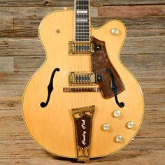 Gretsch Country Club 7576 Natural 1976