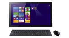 With the Sony VAIO Tap you can surf the web, draw, play games, watch movies, or work from any room. Computer Accessories, Movies To Watch, Games To Play, All In One, Sony, Surface 2, Draw, To Draw, Sketches