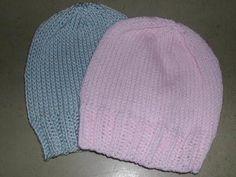 nonaKnits: Newborn Hat Pattern