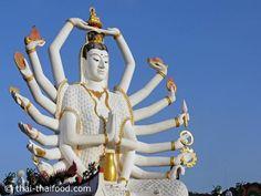 Nuan Na Ram Tempelanlage Koh Samui Thailand, Strand, Statue Of Liberty, Fair Grounds, Statue Of Liberty Facts