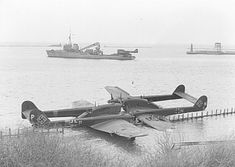 Blohm und Voss BV 138, 6H+PH and 6H+NH, 1./ Flieger Erg.Gr.(See) Kamp , damaged in Rønne Harbour on the island of Bornholm 20.12.1943