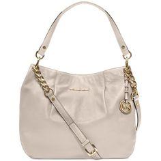 MICHAEL Michael Kors Handbag, Bedford Large Shoulder Bag (1,365 CNY) found on Polyvore