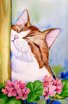 This reminds me so much of Huck, Summer  Time , painting by artist Meltem Kilic