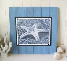 11x14 Blue Plank Frame XTRA LARGE by ProjectCottage on Etsy