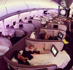 Upper Class on a Virgin Atlantic A340-600