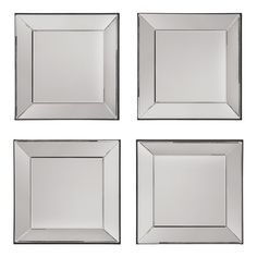 Decorative Square Wall Mirrors (Set of 4) - Overstock Shopping - Great Deals on Office Star Products Mirrors