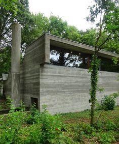 Villa Van Wassenhove Laethem-Saint-Martin. Belgique. 1973 Architect:Juliaan Lampens