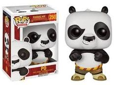 This is a Kung Fu Panda Po POP Vinyl Figure that is made by the good people over at Funko. It's super cool to see that the Kung Fu Panda characters are getting the Funko POP Vinyl treatment. Pop Figurine, Figurines Funko Pop, Funko Figures, Funk Pop, Disney Pop, Pop Vinyl Figures, Po Kung Fu Panda, Flocked Funko Pop, Funko Pop Dolls