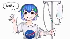 Earth-chan | Know Your Meme  Earth-chan is an anime-style anthropomorphic representation of the planet Earth. She is depicted as a young girl with hair dyed in the colors blue and green, resembling a photograph of the planet taken from space. Online, image macros featuring the character often contain jokes referencing the flat earth theory.  Read more at KnowYourMeme.com.