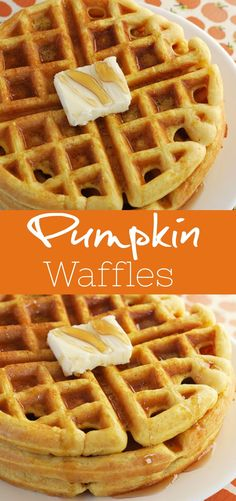 Pumpkin Waffles the perfect fall breakfast! It starts with a pancake mix so it Pumpkin Waffles the perfect fall breakfast! It starts with a pancake mix so its easy fast and delicious! Source by tnoland Fall Breakfast, Breakfast Recipes, Snack Recipes, Easy Recipes, Fast Breakfast Ideas, Pancake Recipes, Oven Recipes, Breakfast Casserole, Brunch Recipes