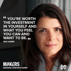 At Mia Hamm became the youngest woman to ever make the U. Hear her story w/ Soccer Tips, Soccer Games, Nike Soccer, Soccer Cleats, Soccer Motivation, Mia Hamm, Soccer Girl Problems, Soccer Quotes, Celebrity Travel
