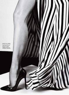 Ginta Lapina in Paul & Joe, Spring 2013photographed by Txema Yeste for Harper's Bazaar Spain, February 2013
