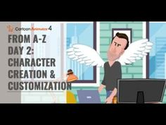 Cartoon Animator from A-Z (Day Character Creation & Customization) Character Creation, 2d, Scene, Animation, Cartoon, Animation Movies, Comic, Anime, Cartoons