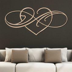 Romantický obraz - Infinity love │DUBLEZ Infinity Love, Home Decor, Decoration Home, Room Decor, Home Interior Design, Home Decoration, Interior Design