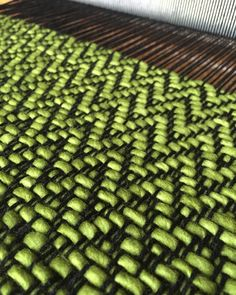 Spring has sprung on the loom. Tear, Scandinavian Style, Loom, Pattern Design, Weaving, Rag Rugs, Instagram Posts, Blankets, Fabrics