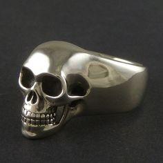 Fancy - Silver Skull Ring
