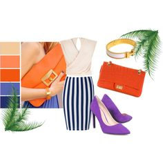 Summer 7 by minelik on Polyvore featuring moda, River Island, Nine West, Chanel and Hermès